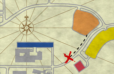 Parking Treasure Map